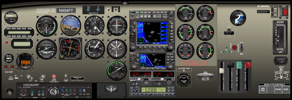 Rockwell Commander 112 FTS530